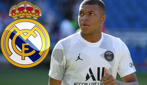 Real Madrid submits 160 million euros to buy Mbappe