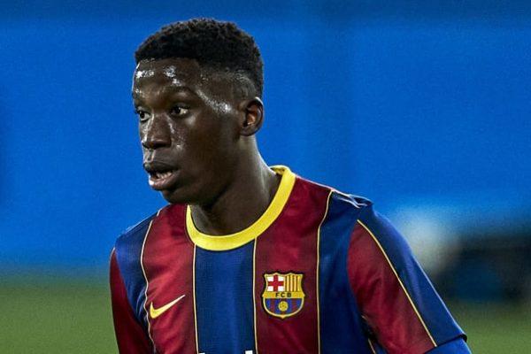 Barcelona midfielder Yax Moriba has the opportunity to move to RB Leipz